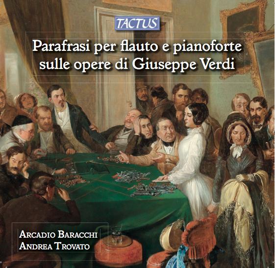 Parafrasi per flauto e pianoforte sulle opere di G.Verdi